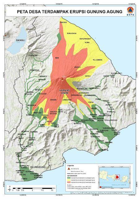 agung volcano bali indonesia alert level raised