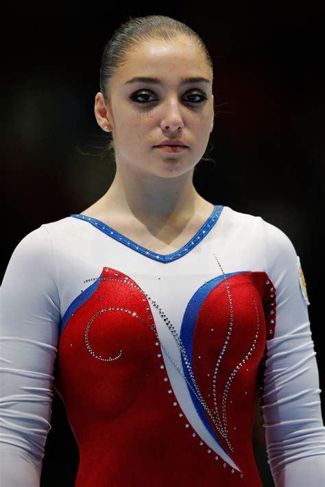 aliya mustafina gymnastics artistic championships belgium zimbio six jessica worlds cheerleader nba cheerleaders