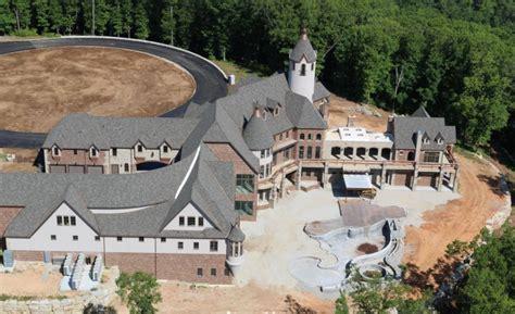 square foot newly built lakefront mega mansion  branson west missouri homes   rich
