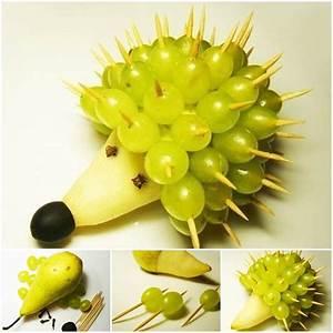 DIY Adorable Fruit Hedgehog Good Home DIY