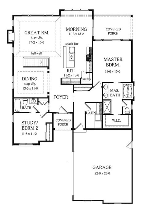 split bedroom floor plans 3 bedroom 2 bath split floor plan ranch house plan