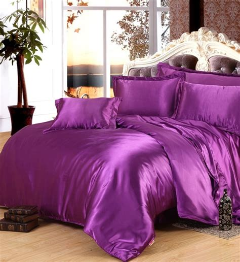 silk comforter sets purple silk comforter sets satin bedding set sheets duvet 2220