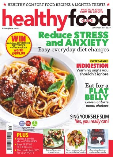 guide cuisine magazine healthy food guide magazine december 2015 subscriptions