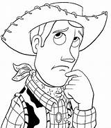 Cowboy Coloring Picgifs Toy sketch template
