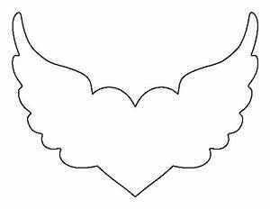 Angel Wing Cut Out Template Crafts   The O U0026 39 Jays And Wings
