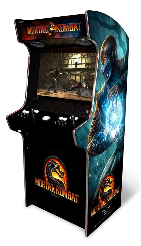 Mortal Kombat Arcade Cabinet by Engadget Gaming Engadget