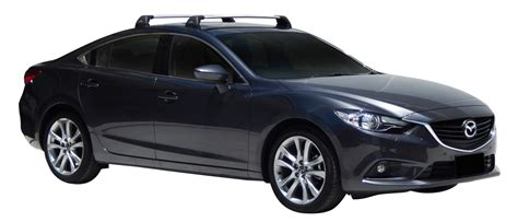 Mazda 6 4dr Sedan Gj 1212on Whispbar Roof Racks (pr