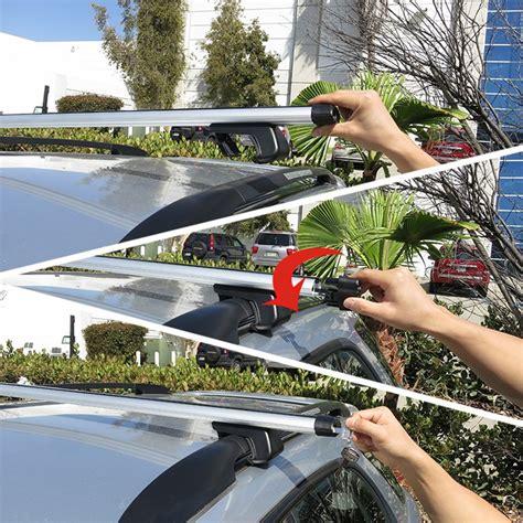 universal  roof top cross bars luggage cargo rack