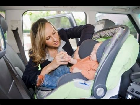comment mettre un siege auto comment installer un siège bébé par terrafemina