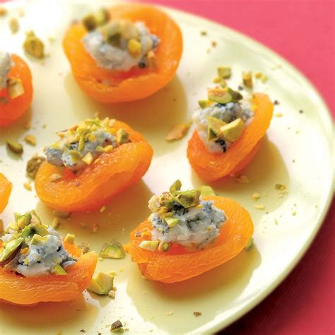 fruit canapes apricot canapes recipe eatingwell