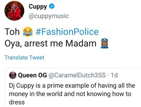 See How DJ Cuppy Replied A Follower Who Said She Doesn't ...