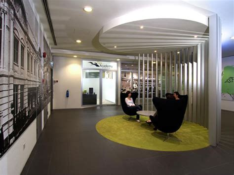 fun colours provide vibrant office interiors idesignarch