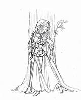 Medieval Coloring Pages Princess Gypsy Adult Times Adults Deviantart Drawing Drawings Sketches Romani Pagan Books Printable Sheets Dragon Popular sketch template