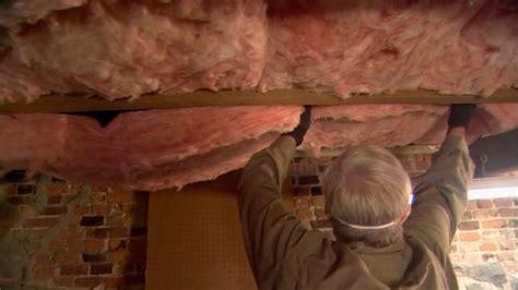 insulating basement joists insulating basement rim