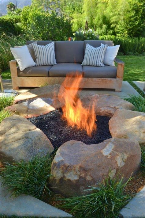 inspiration  backyard fire pit designs decor