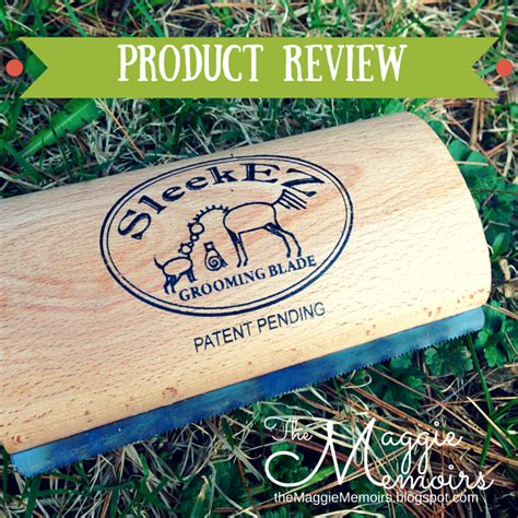 Sleekez Shedding Blade by The Maggie Memoirs Product Review Sleekez Grooming Blade