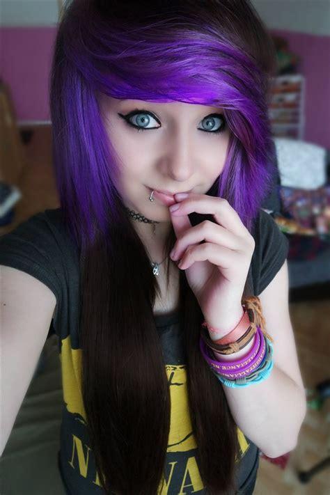 17 Best Ideas About Purple Brown Hair On Pinterest Dark