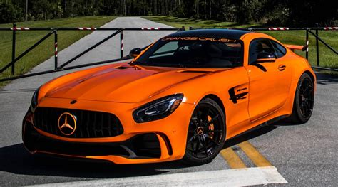 Amg Gt R by Renntech Amg Gt R The Orange Beast