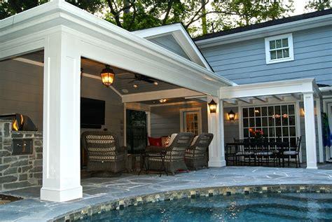 patio cover built  garage outdoor kitchen  memorial