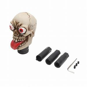 Naughty Skull Head Shaped Car Truck Manual Stick Gear