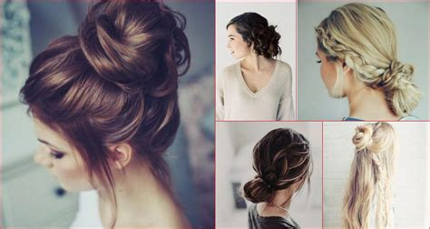 9 easy messy hairstyles with tutorials to rock any day