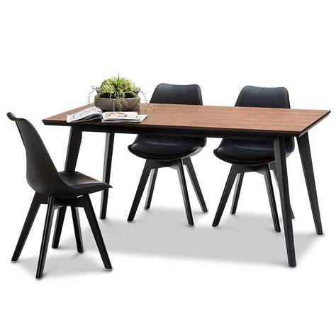 pied de chaise en bois chaise helsinki noir pieds bois lot de 2 chaise design