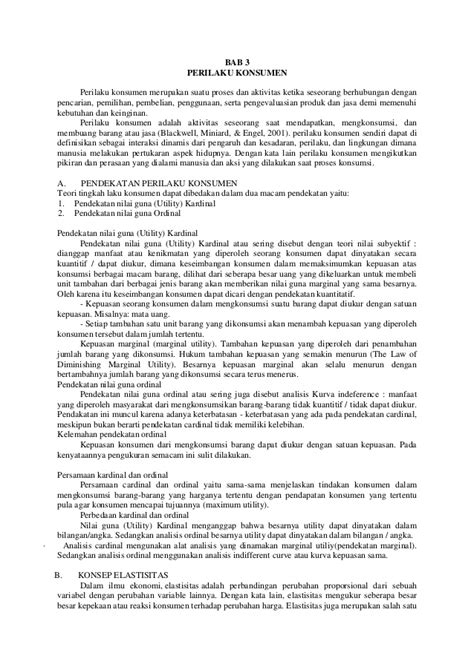 Makalah Ekonomi Mikro II (Resume)