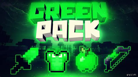 minecraft green pvp resource pack release
