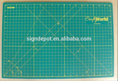 Adhesive A3 Self-healing Cutting Mat For Crafting