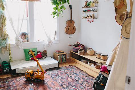 chambre bébé montessori como decorar una habitación infantil bohemia y con