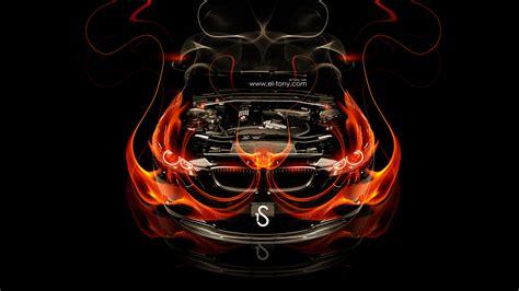 Bmw M3 Engine Fire Car 2014