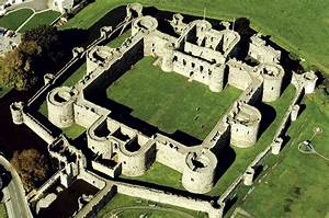 Medieval Castle Drawing Birds Eye View