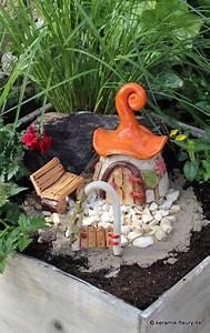 Feenhaus Selber Basteln : miniaturgarten keramik f r haus und garten ~ Lizthompson.info Haus und Dekorationen