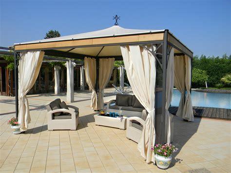 Garten Pavillon by Gartenpavillon Aus Stahl Perla Kollektion Golden By Sprech