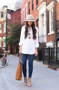 25 Ways To Wear White Shirts (Outfit Ideas) 2018 | FashionTasty.com