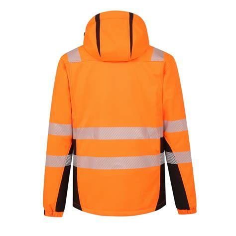 Augstas redzamības ziemas softshell jaka Calgary, oranža, M, Pesso - Hi-vis ziemas jakas