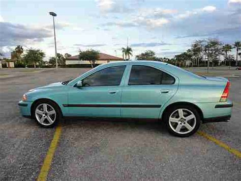 manual cars for sale 2004 volvo s60 electronic throttle control sell used 2004 volvo s60 r awd manual 6 speed florida car 300 hp great shape clean in punta