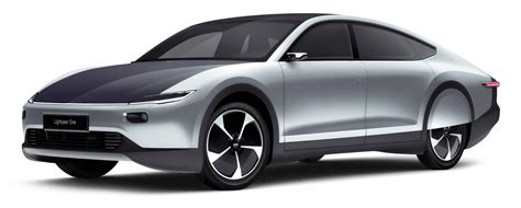 Electric Car by The Lightyear One Is A 169 000 Electric Car With Built In