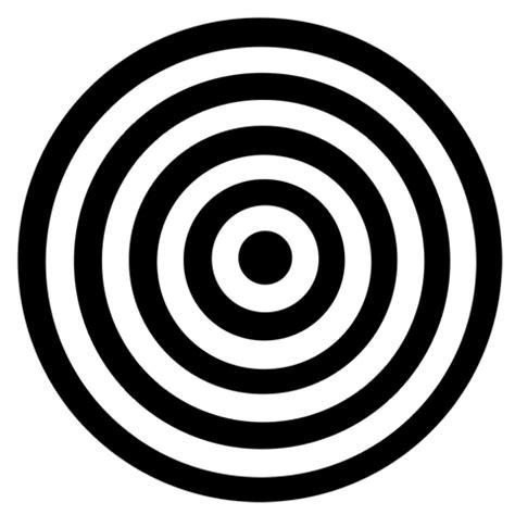 Animated Black and White Circle