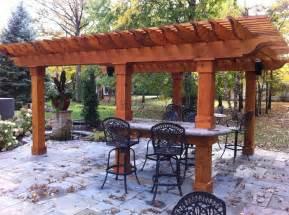 Cedar Pergola Design Plans