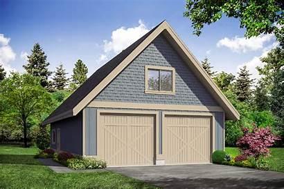 Garage Plans Plan Country Storage Upper Level