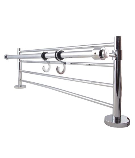 Towel Hanger For Bathroom India Buy Towel Rack At Low Price In India Snapdeal