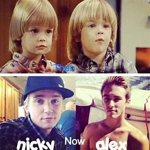 Nicky and Alex from Full House then and now :') | Full ...