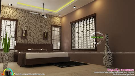 Compact Bedroom Designs India by Modular Kitchen Living And Bedroom Interior Kerala Home
