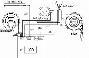 Cooker Wiring Diagram