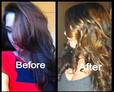 nvious beauty  ombre hair attempt