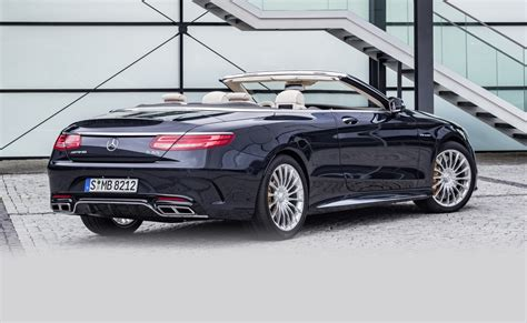 2016 Mercedesamg S65 Cabriolet Revealed  Update Photos