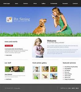 pet sitting website template 19989 With dog sitting website