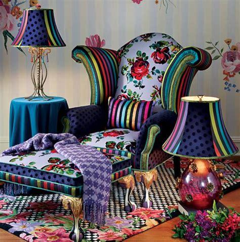 MacKenzie-Childs Tivoli Gardens Chair - Exotic Excess
