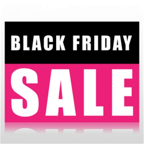 black friday sale sign panel at speedysigns